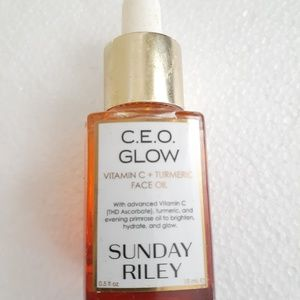 Sunday Riley CEO Glow face oil vitamin C .5 0z